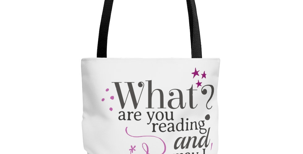 Tote Bag - Bye Bye (White) - Carrousel Collection
