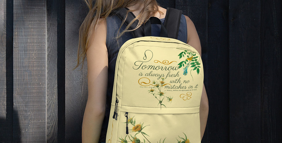 Backpack - Oh my Montgomery - Cottage Collection