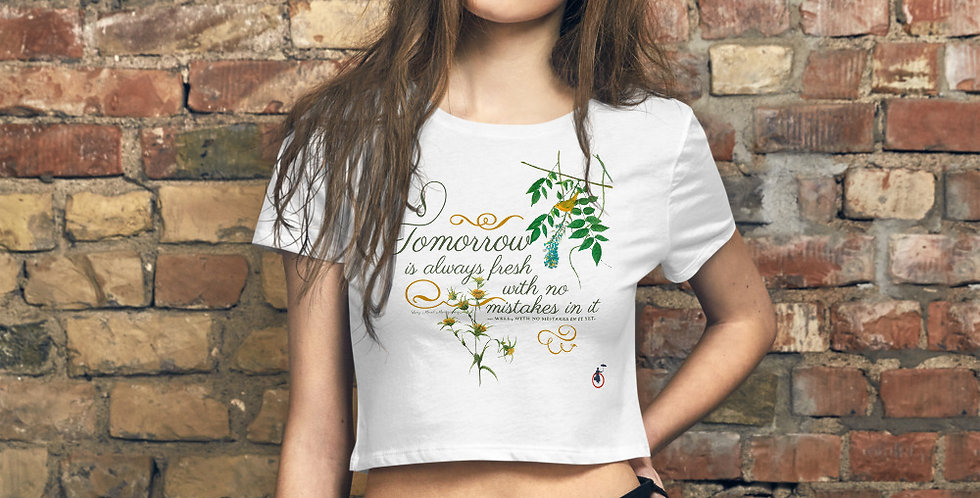 Stylish Crop Tee - Oh my Montgomery - Cottage Collection