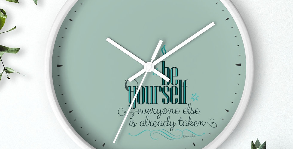 Wall clock - Oh my Wilde - Carrousel Collection