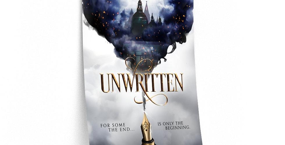 Premium Matte Poster - Unwritten - Authors Collection