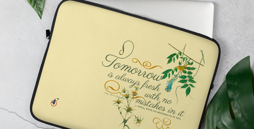 Laptop Sleeve - Oh my Montgomery - Cottage Collection