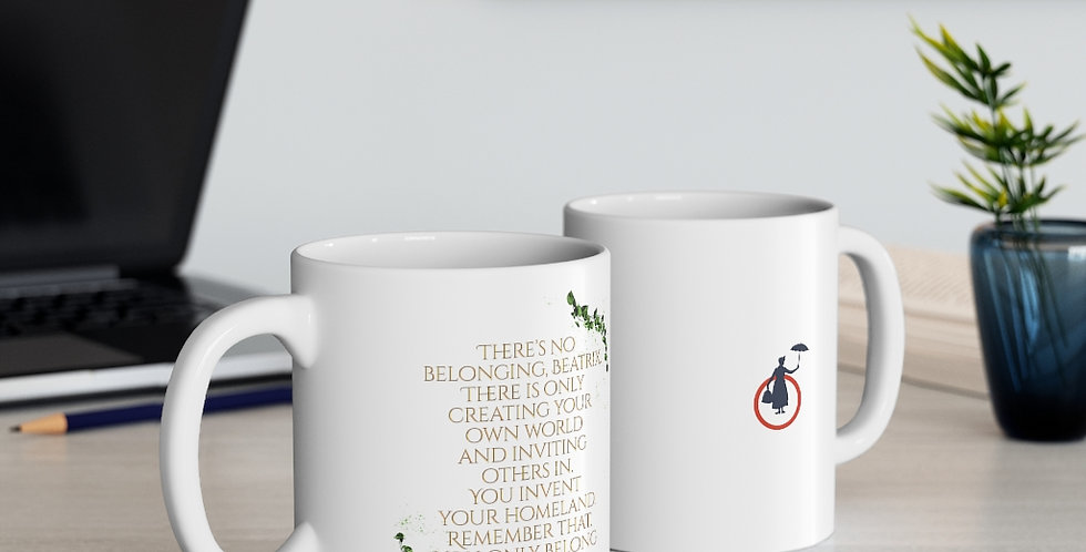 Mug - Unwritten / There´s no belonging - Authors Collection