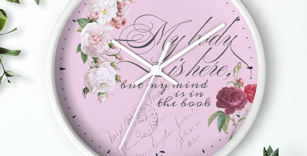Wall clock - Mind & Body - Ballet Collection