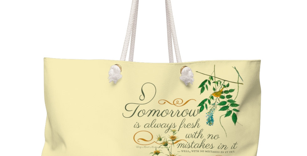 Weekender Bag - Oh my Montgomery - Cottage Collection