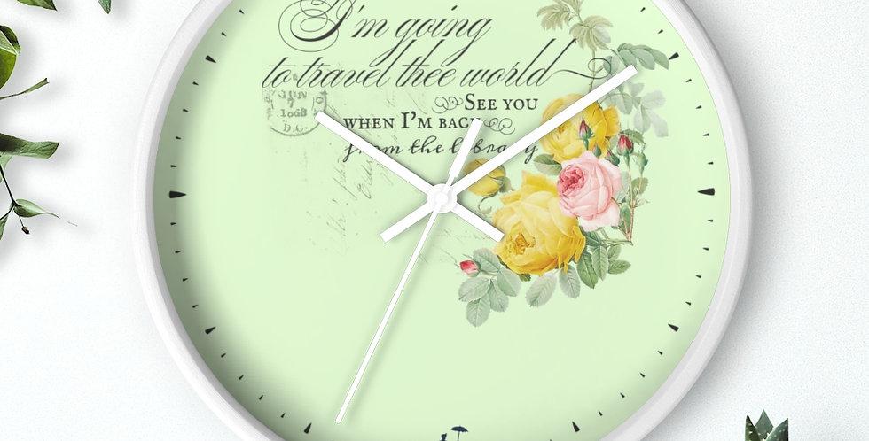 Wall clock - Joyride - Ballet Collection