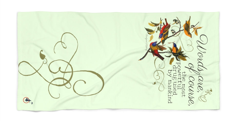 Beach Towel - Oh my Kipling - Cottage Collection