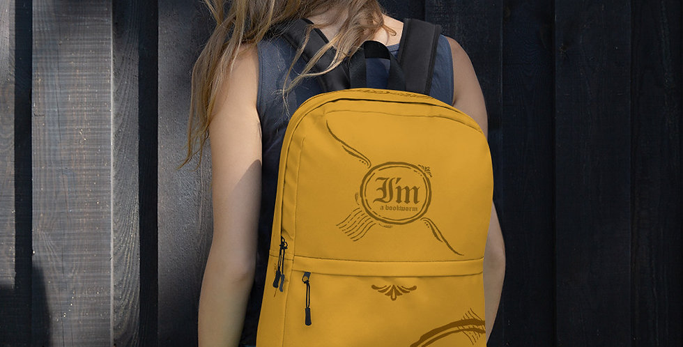 Backpack - Bookworm - Carrousel Collection