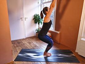 Online private yoga class