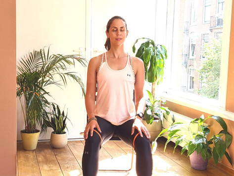 A Guide to Mindful Chair Yoga for Office Workers