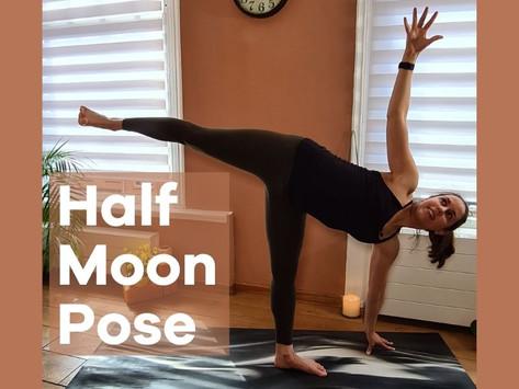 How to Do Half Moon Pose | Ardha Chandrasana