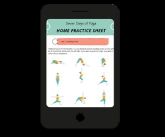 Practice yoga sequences