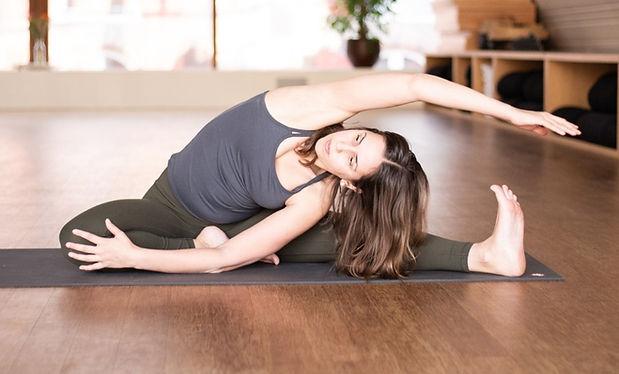 Private yoga class Amsterdam
