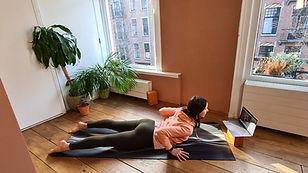 Best online yoga class set up