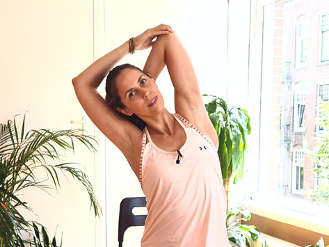 Yoga for the neck and shoulders