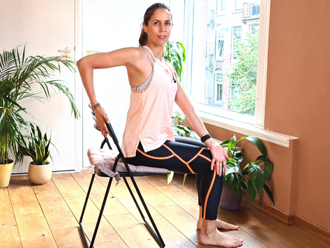 Chair Yoga for Back Pain
