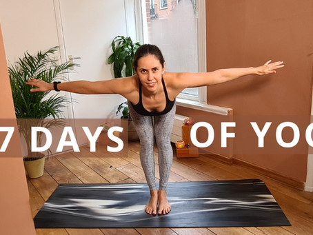 Yoga Challenge: Seven Days of Yoga at Home