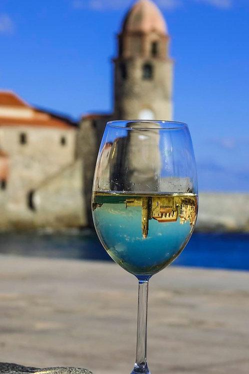 Le clocher dans un verre