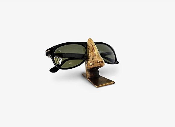Supporto per occhiali in bronzo - Nose Sunglass by Mama Schwaz Milano