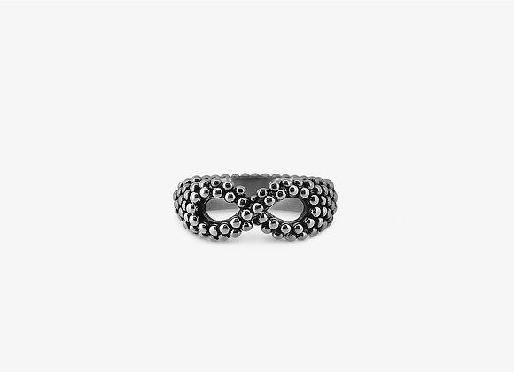 Anello borchiato infinito - Studded Infinity Ring