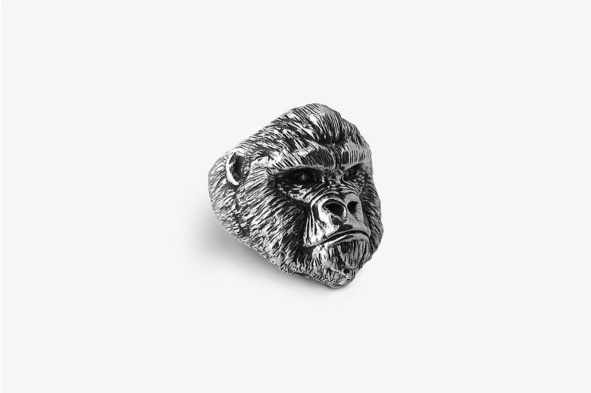 Anello Gorilla Argento by Mama Schwaz Milano