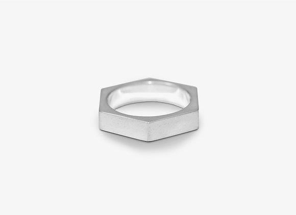Anello esagonale - Hexagon Ring by Mama Schwaz Milano