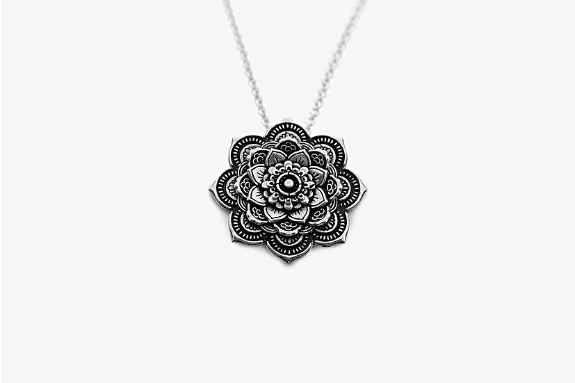 Ciondolo Mandala 2,3 cm Argento