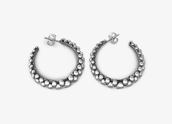 Orecchini borchiati 3cm - Studded earrings 3cm - Mama Schwaz Milano