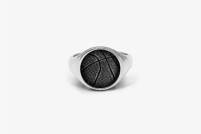 Anello Basket Argento by Mama Schwaz Milano