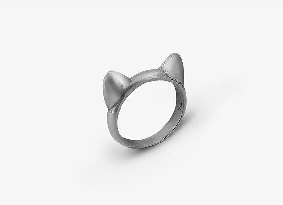 Anello orecchie gatto -  Cat ears ring - Mama Schwaz Milano