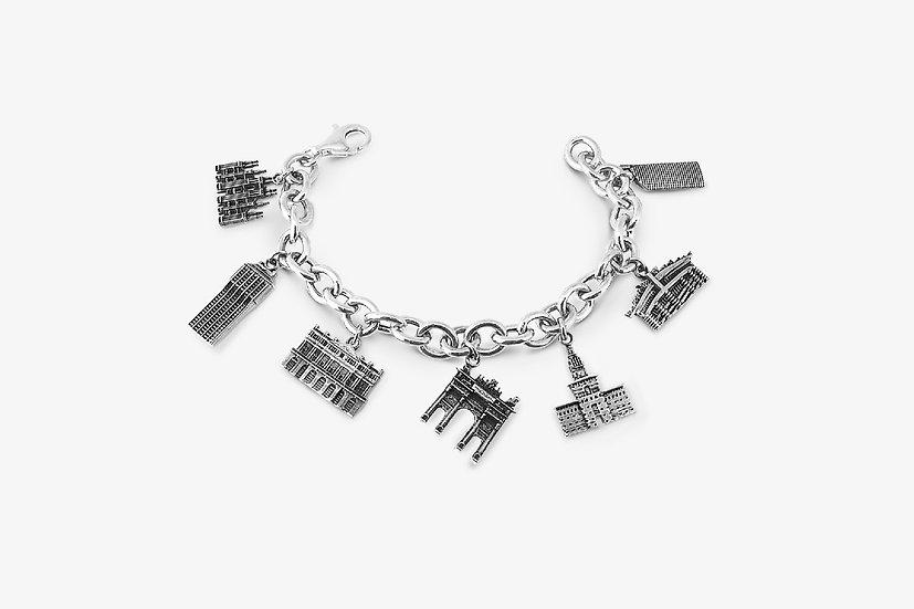 Bracciale-ciondoli-milano-argento925