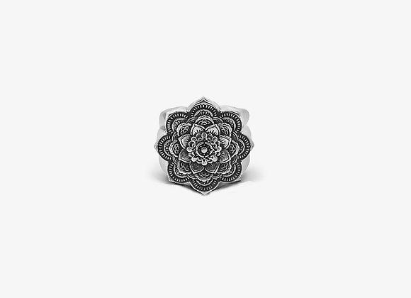 Anello Mandala Piccolo - Small Mandala Ring - Mama Schwaz shop online Milano