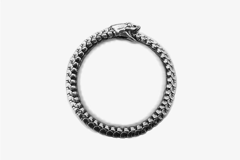 Bracciale Serpente Uroboro Argento 925 - Mama Schwaz shop online Milano