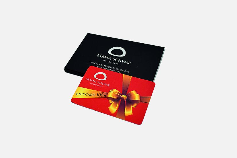 Carta regalo 100€ - Gift Card 100€ by Mama Schwaz Milano