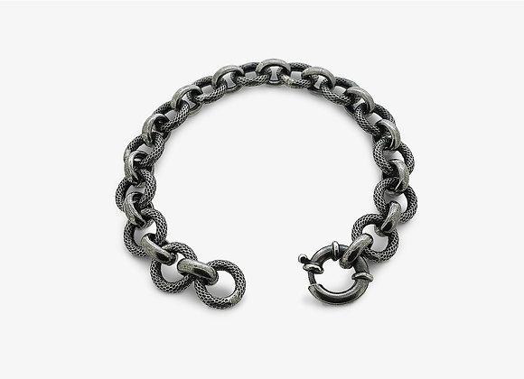 Bracciale maglia tonda - Single round chain armlet