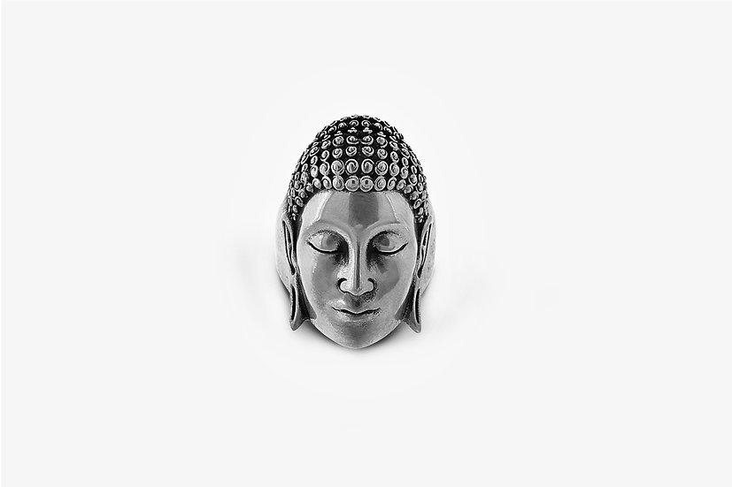 Anello Buddha Grande Argento