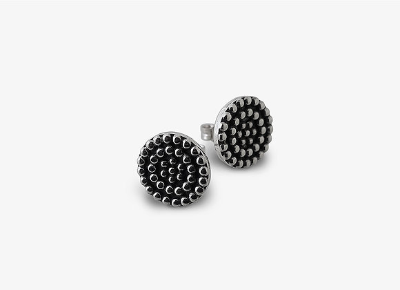 Orecchini borchiati 13mm (variante) - Studded Earrings 13mm (variant) by Mama Schwaz Milano