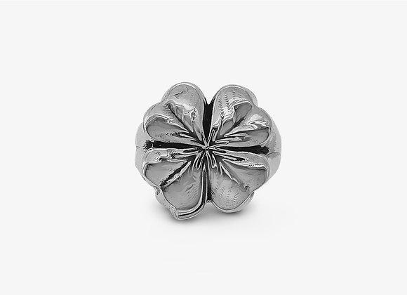 Anello Quadrifoglio - Four-Leaf Clover Ring - Mama Schwaz Gioielli Argento 925