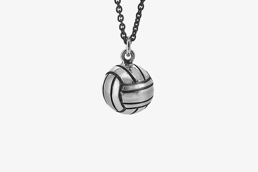 Ciondolo palla da pallavolo 3D - Volleyball ball pendant - Mama Schwaz shop Milano