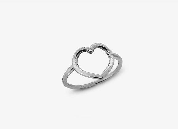 Anello filo cuore -  Heart wire ring - Mama Schwaz Milano