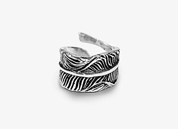 Anello piuma - Feather Ring by Mama Schwaz Milano
