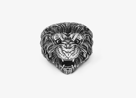 Anello Leone Grande - Big Lion Ring - Mama Schwaz shop online Milano