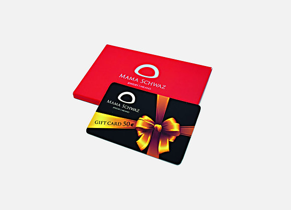 Carta regalo 50€ - Gift Card 50€ by Mama Schwaz Milano