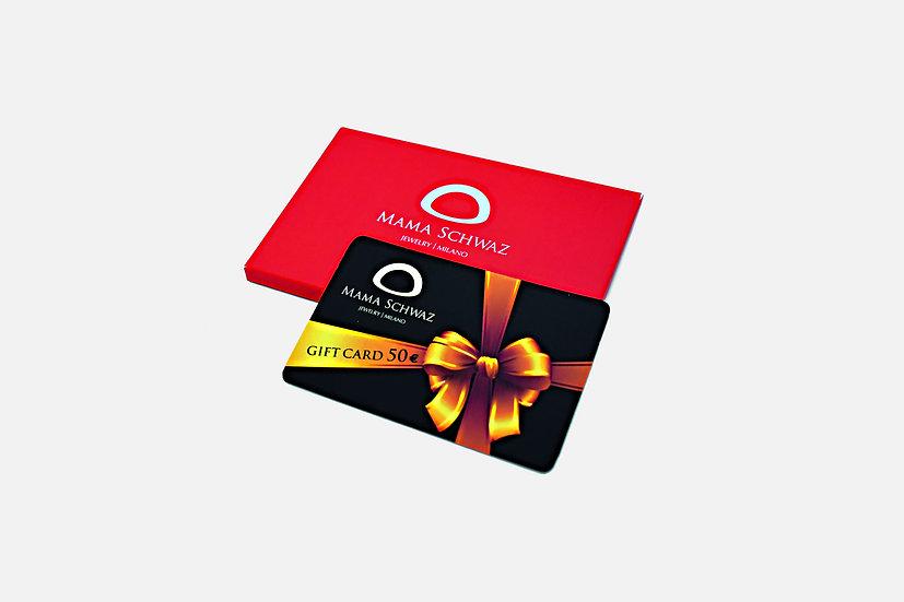 Carta regalo 50€ - Gift Card 50€ by Mama Schwaz Milano