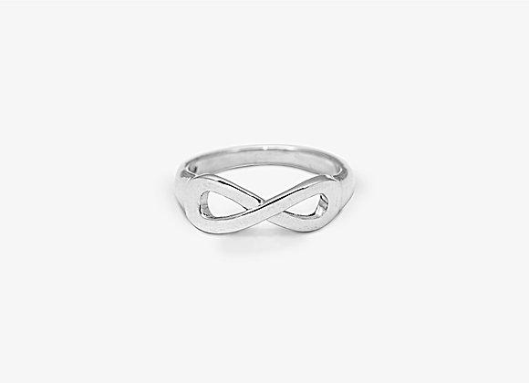 Anello piccolo segno infinito - Small Infinity Ring by Mama Schwaz Milano