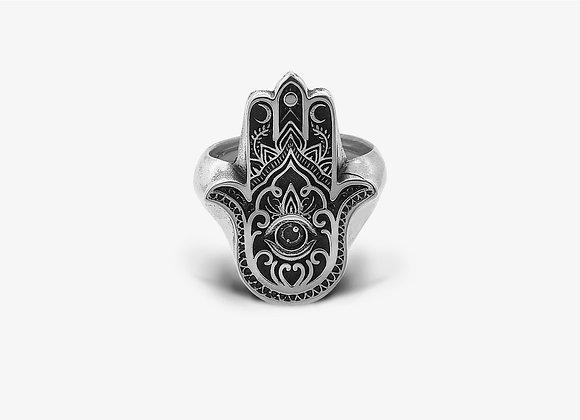 Anello mano di fatima - Hand of Fatima Ring - Mama Schwaz shop Milano