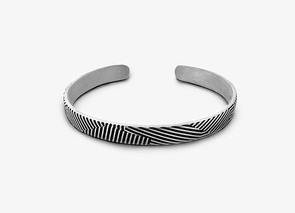 Bracciale rigato - Stripes armlet - Mama Schwaz shop online Milano