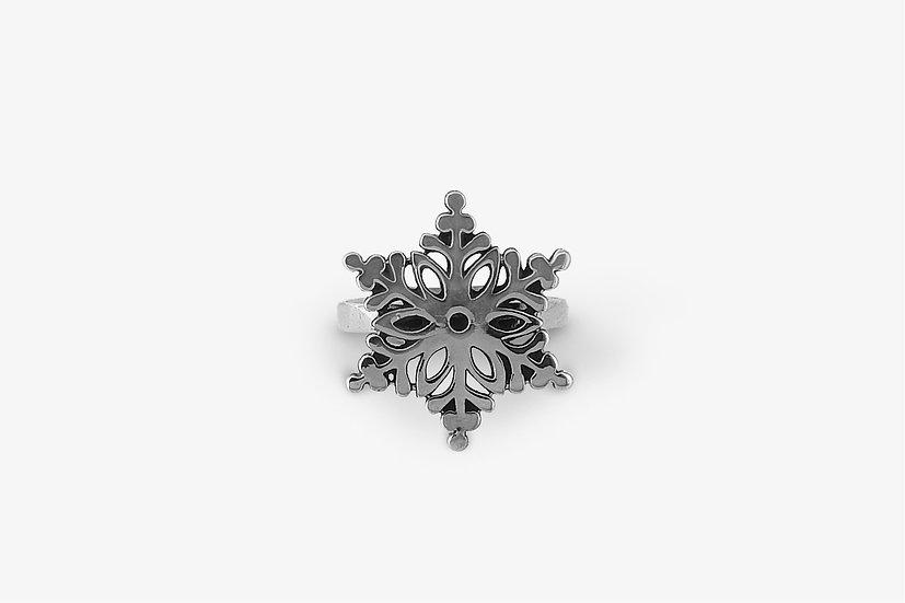 snowflake-ring