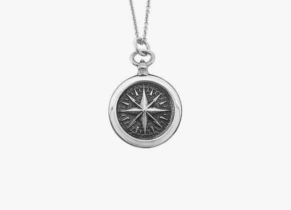 Ciondolo Bussola Grande - Big Compass Pendant