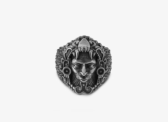 Anello Capo Maya - Mayan Chief Ring - Mama Schwaz Milano